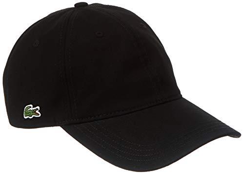 Lacoste Herren RK4709 Schirmmütze, Black, Einheitsgröße