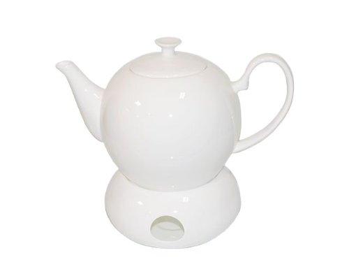 CHA CULT - Teekanne mit Stövchen Sophie (1.3L) Fine Bone China