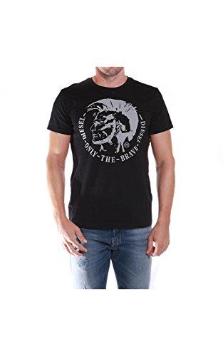 Diesel 00SQXC Camiseta, Negro (900), L para Hombre
