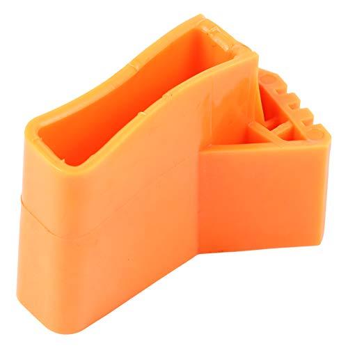 YARNOW - 4 alfombrillas para escalera, patas de escalera, antideslizantes, de goma, almohadillas de pie para escalera plegable, multifunción, en forma de abanico