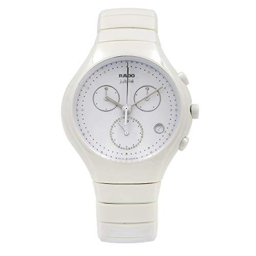 Rado True Jubile R27832702 Reloj cronógrafo de cuarzo blanco para hombre