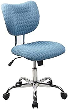 Realspace Jancy Quilted Fabric Low-Back Task Chair