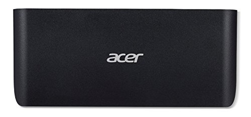 Acer USB Type-C Dock (Displayport (4K), HDMI (4K), Audio, Gigabit Ethernet, 2x USB 3.1, 3x USB 3.0, Audio) schwarz