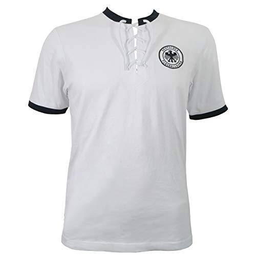 DFB Kinder Retro Fußball Trikot 1954 Deutschland Nationalmannschaft Bern 54 (9833) (152)