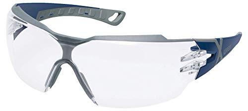 Uvex pheos cx2 Schutzbrille - Supravision Excellence - Transparent/Blau-Grau