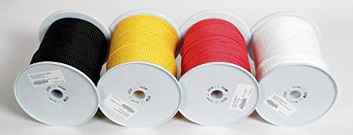 Relags Unisexe 200 mètres Rouleaux 4 mm Corde, Mixte, Seile Auf 200 Meterrollen 4 mm, Rot