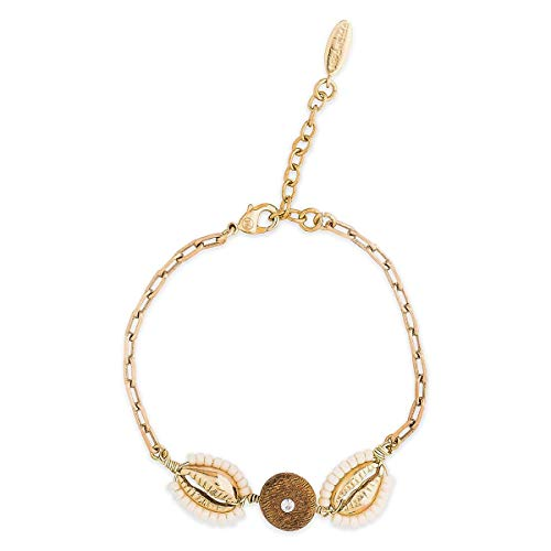 HIPANEMA - Bracelet Fin Ajustable Coquillage Coconut