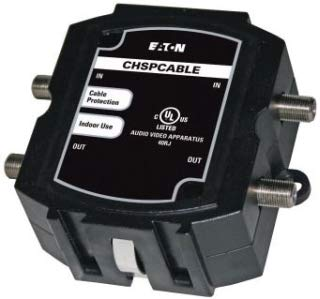 CHL Eaton CHSPCABLE dcxcab2 (old#) surge protector primary cable satellite tv 2 line capacity series surgecable qty 1