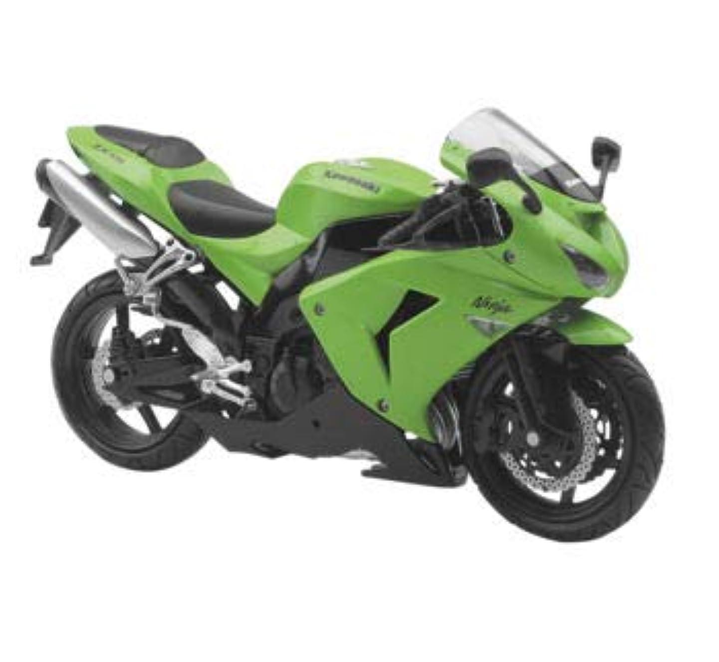 New Ray Toys 1:12 Scale Sport Bike Die-Cast Replica Kawasaki 2006 ZX-10R 42443A
