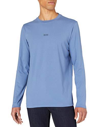 BOSS TChark 10216254 01 Camiseta, Open Blue489, S para Hombre