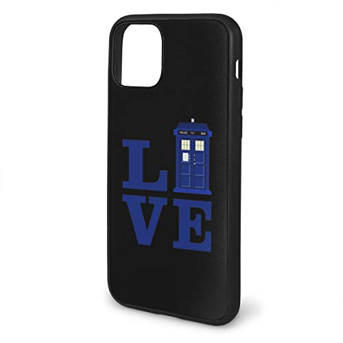 Vogue Site Love The Blue Travel Police Public Call Box iPhone 11/11 Pro / 11 Pro Max Phone Case for 2019 iPhone Soft TPU Case Protection Shockproof iPhone Case Premium Quality Case