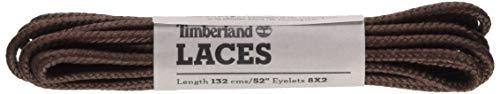 Timberland Round Nylon Laces 52-inch Unisex-Erwachsene Schnürsenkel, Braun (Medium Brown), Einheitsgröße