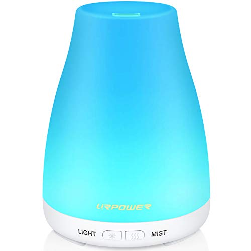 URPOWER 2nd Version Essential Oil Diffuser Aroma Essential Oil Cool Mist Humidifier with Adjustable...