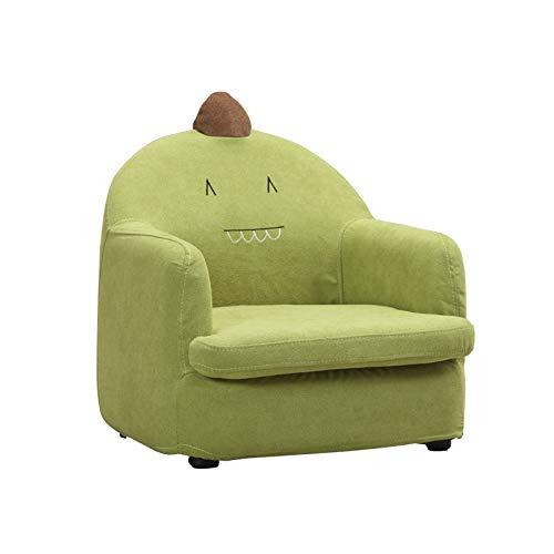Baby-sofastoelkarikatuurbaby zittend kind klein sofakinderdoek tatami anti-val verwijderbaar en wasbaar groen