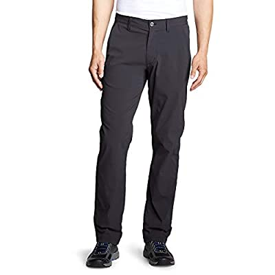 Eddie Bauer Men's Horizon Guide Chino Pants, Carbon Regular 33/32