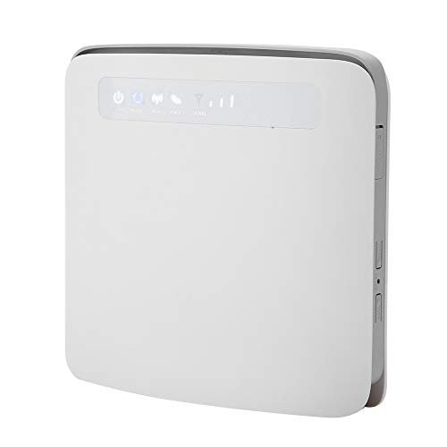 Tosuny WiFi Router 4G SIM CPE Enrutador de Red Wireless Router EU Plug 100-240V, Soporte 64-Users