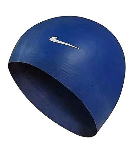 Nike 93050-440 Schwimmkappe, Marineblau, Einheitsgröße
