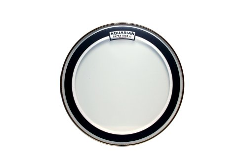 Aquarian Drumheads SKII16 Super-Kick II Double Ply 16-inch Bass Drum Head