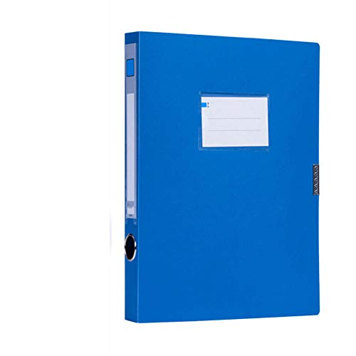 brrCVE Caja de Archivos de Documentos A4 portátil Bolsa de Archivos Carpeta Organizador de Negocios Ligero Caja de Archivos Oficina