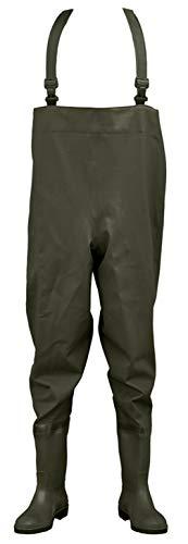 Safety Waders – Insert Embout en acier et protection Semelle intermédiaire – Vert Olive 46