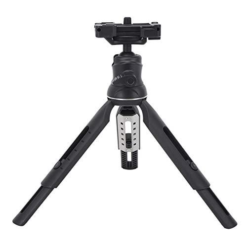 SALUTUYA Trépied réglable trépied 5 Positions réglable avec 5 Vitesses en Plastique + Aluminium adapté aux téléphones Mobiles caméras de Mouvement appareils Photo Reflex numériques