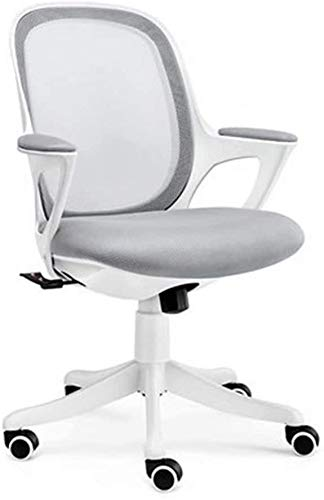 BRFDC Noble Chair Home Computer Stuhl Student Schreibstuhl Studie Sitz Studienstuhl Lift Schreibtisch Stuhl Schwenkstuhl Einfache Bürostuhl (Color : Grey)