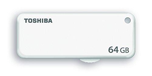 Toshiba THN-U203W0640E4 - Memoria Flash USB de 64 GB, Color Blanco