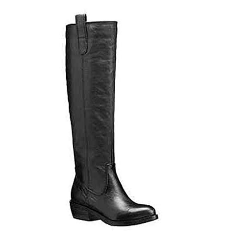 Arturo Chiang Women's Kanie Black Leather Boots - M - 6.5