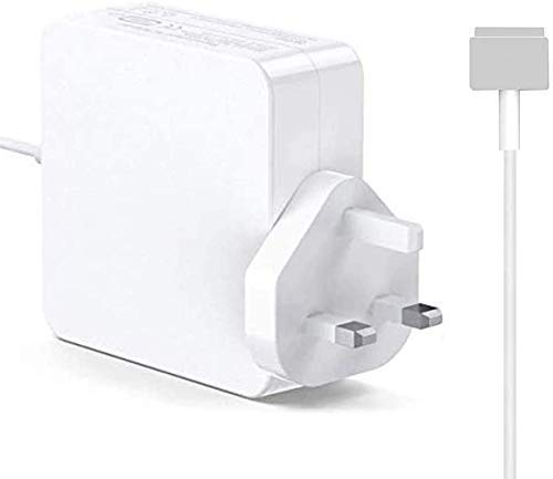 ZASUN Compatible With Mac Book Pro Charger, Replacement 85W Magsafe 2 Power Adapter For Mac Book 13' & 15' & 17' (2012Late UK Plug)