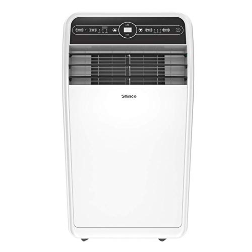 Shinco 10,000 BTU Portable Air Conditioners with Built-in Dehumidifier, Different Fan Modes, for Rooms to 300 sq.ft, Remote Control