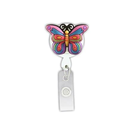 SS4759-BU-BR Carolines Treasures English Toy Spaniel Retractable Badge Reel or ID Holder with Clip