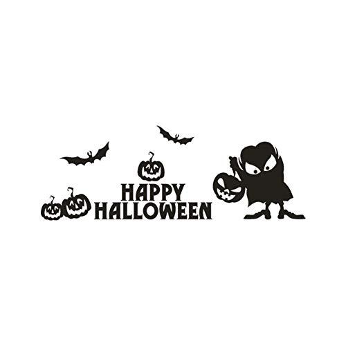 Taoyue Muurtattoo, decoratie thuis, vrolijk, Halloween, pompoenen, wandtattoo, raamdecoratie, decoratie