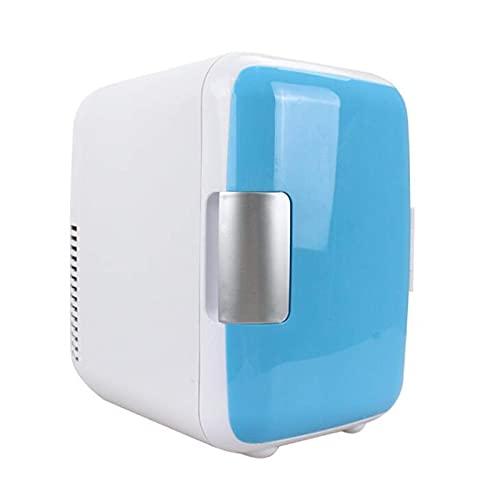 Mini Frigorífico 2 en 1 refrigerador para refrigeradores con función de refrigeración y calefacción, refrigerador de cuidado de la piel 4L, congelador pequeño, nevera al aire libre para autos, rosa Ji