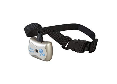 HI.PET Collar Ajustable PFTC1 con Cámera de Video Digital y Grabadora de Audio para Conocer la Vida de tu Perro, Pet Camcoder, Pantalla LCD Monocroma, Admite Tarjeta de Memoria TF de 32 GB no incluida