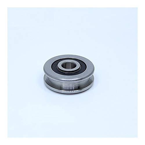 Rodamientos de rodillos de precisión H204714 H rígido de bolas 20x47x14mm rodamiento de acero Rodillos H4 / 1 Slide Guía Rodamientos U rueda de polea (2PCS) ( Size : 204714H4 1 2PC )