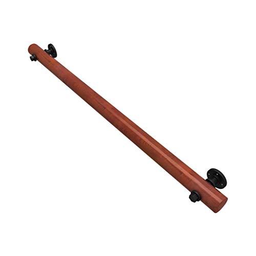 Comif-barkruk ronde trapleuning (1 voet 20 voet), antislip huishoudmassief houten binnenleuning, kinderveiligheidsleuning