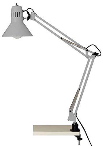 Brilliant AG 427004 Lampe de bureau, Métal, E27, 40 W, Argent