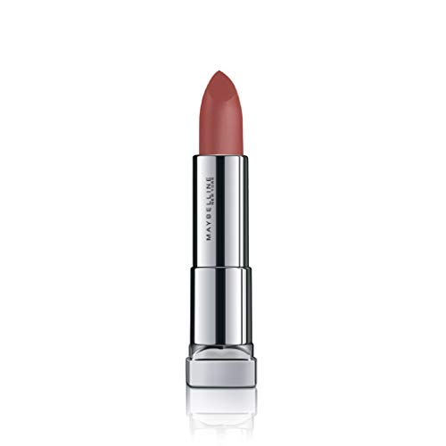 Maybelline New York Color Sensational Powder Matte Lipstick,Touch of Nude, 3.9g