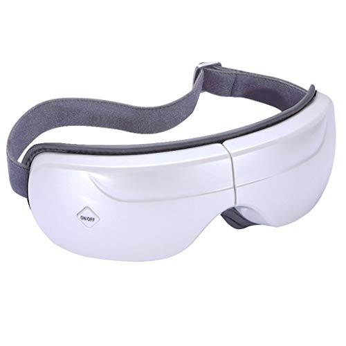 Masajeador de ojos Vibrador neumático Masajeador de ojos portátil, con música, alivia la fatiga ocular, ojos secos y alivio del estrés en círculos oscuros