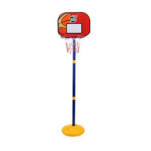 Not application Aro de Baloncesto portátil, Altura Ajustable para niños, portería de Baloncesto con/Tablero de Baloncesto, Ruedas, Red de Baloncesto, Adecuado para Interiores y Exteriores