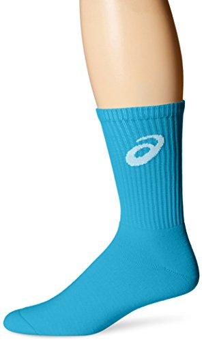ASICS Damen Team Crew Socken, Blau-Atomic Blue, X-Large
