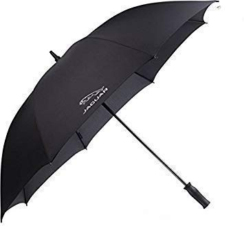 Jaguar Collection Merchandise Neu Original Golf Sonnenschutz Regenschirm 50JEUM119BKA