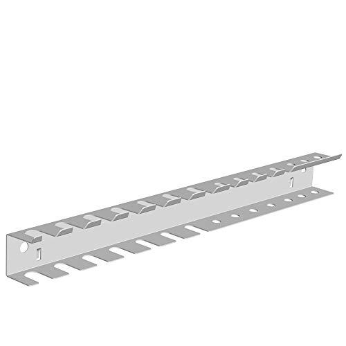 Werkzeughalter-Leiste doppelt L360 mm weiss