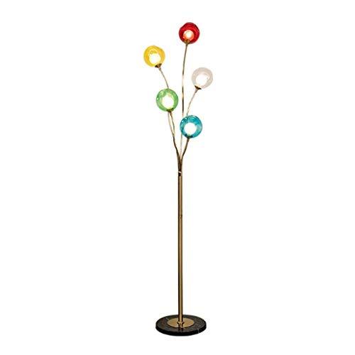 lamp Stehlampe, Hauptdekoration, Stehende Lesung Led Nordic Art Stehleuchte Glasmalerei Ball Ball Postmoderne Ikea Wohnzimmer Schlafzimmer Studie Stehleuchte