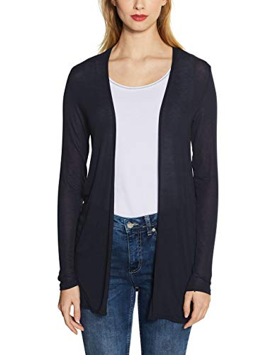 Street One Damen 314830 Strickjacke, deep Blue, 40