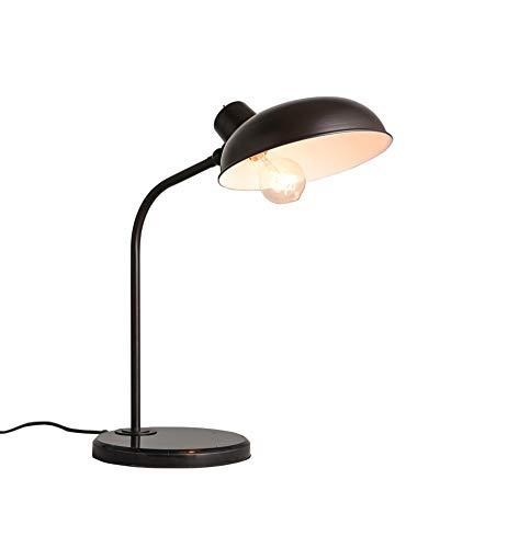 Tafellamp, Loft, Amerikaanse industrie retro, strijkijzer, antieke bureaulamp, bureaulamp, natuurlijk licht, werk en studie, schakelaar voor stroomvoorziening van de lamp 500 & tijd.