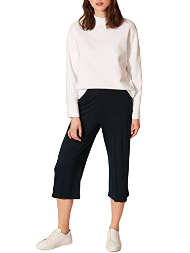 LC WAIKIKI Capri - Pantalones de deporte para mujer (viscosa, con goma elástica en la cintura)