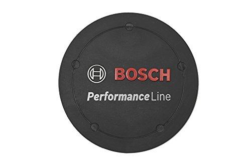 Bosch Logo-Deckel Performance Abdeckung, schwarz, Einheitsgröße