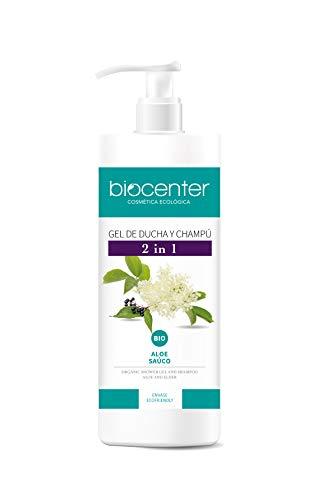 Biocenter Botanical - Gel de ducha y Champú 2 en 1 ecológico - Envase Ecofriendly 500 ml