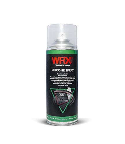 WRX Silicone Spray 400 ml silicone spray to lubricate and protect plastic or rubber parts